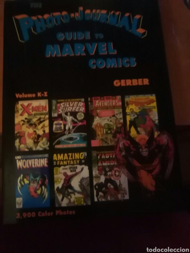 PHOTO-JOURNAL.GUIDE TO MARVEL COMICS-VOLUME K-Z- (Tebeos y Comics - Hispano Americana - Capitán Marvel)