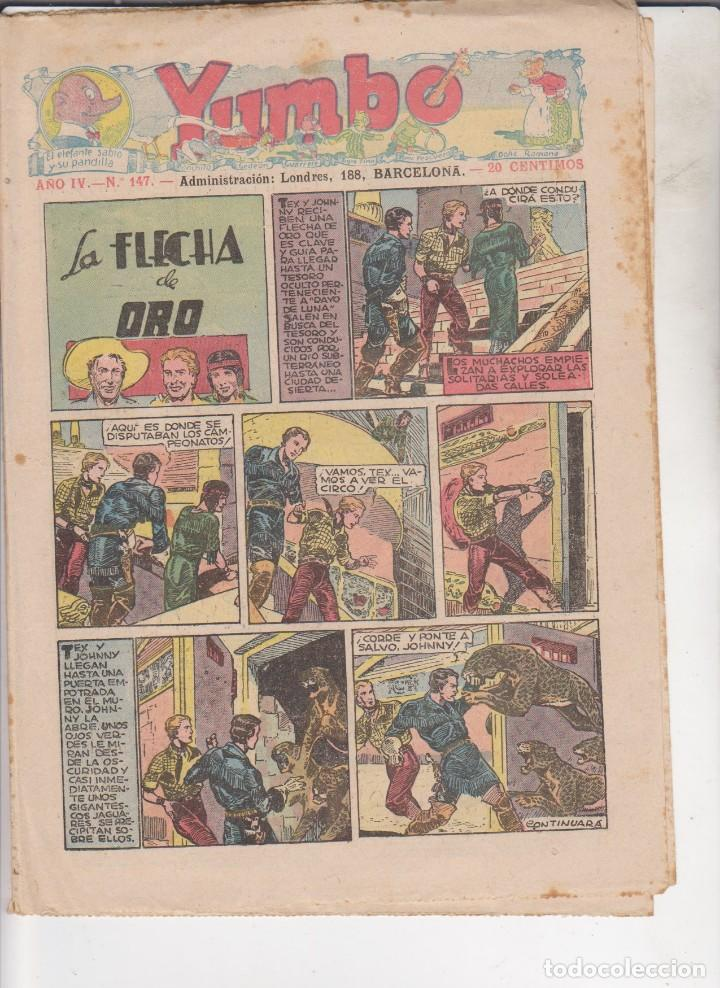 COMIC COLECCION YUMBO Nº 147 (Tebeos y Comics - Hispano Americana - Yumbo)