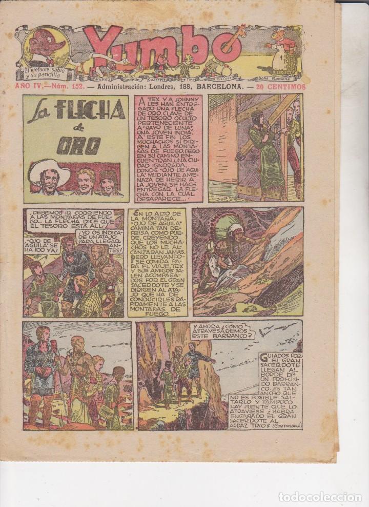 COMIC COLECCION YUMBO Nº 152 (Tebeos y Comics - Hispano Americana - Yumbo)
