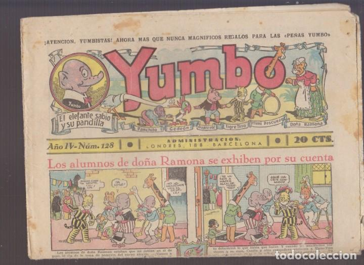 COMIC COLECCION YUMBO Nº 128 (Tebeos y Comics - Hispano Americana - Yumbo)