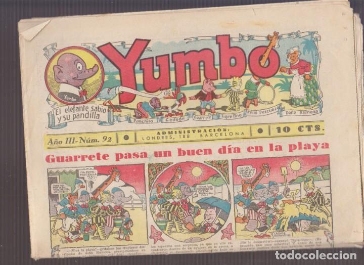 COMIC COLECCION YUMBO Nº 92 (Tebeos y Comics - Hispano Americana - Yumbo)