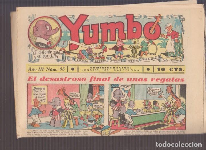 COMIC COLECCION YUMBO Nº 83 (Tebeos y Comics - Hispano Americana - Yumbo)