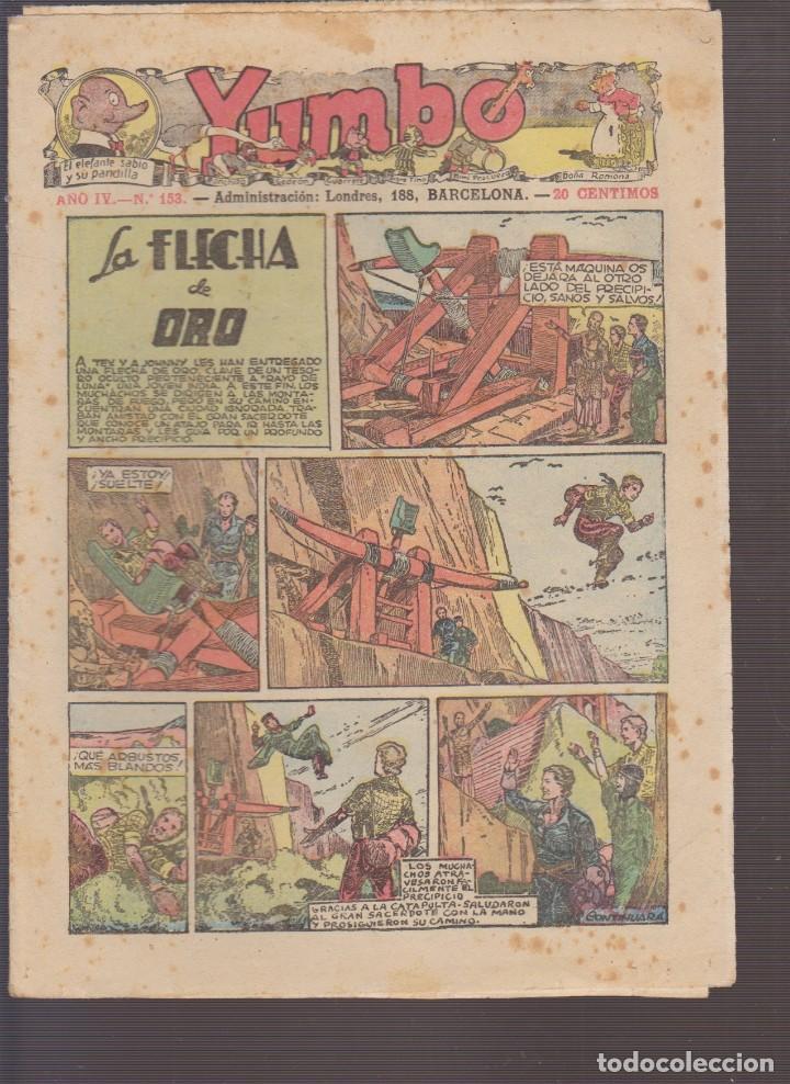 COMIC COLECCION YUMBO Nº 153 (Tebeos y Comics - Hispano Americana - Yumbo)