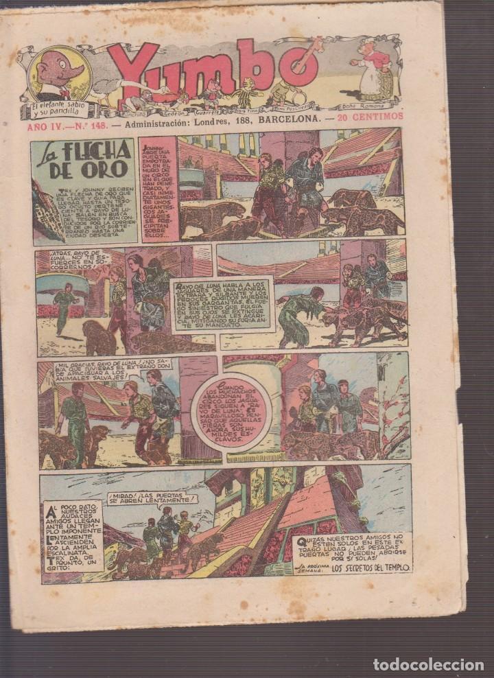 COMIC COLECCION YUMBO Nº 148 (Tebeos y Comics - Hispano Americana - Yumbo)
