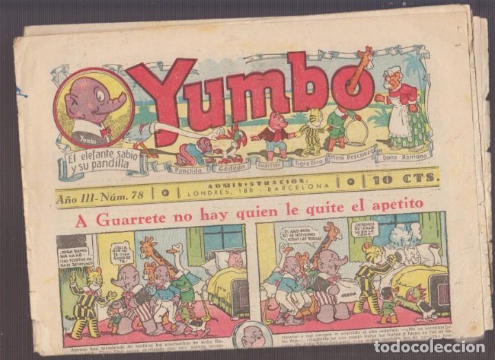 COMIC COLECCION YUMBO Nº 78 (Tebeos y Comics - Hispano Americana - Yumbo)