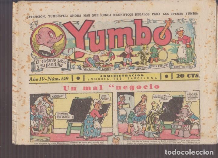 COMIC COLECCION YUMBO Nº 129 (Tebeos y Comics - Hispano Americana - Yumbo)