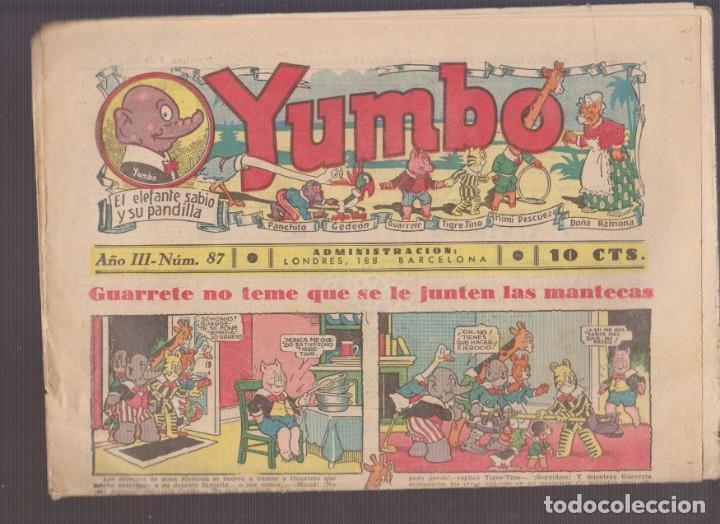 COMIC COLECCION YUMBO Nº 87 (Tebeos y Comics - Hispano Americana - Yumbo)