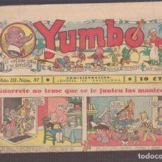 Tebeos: COMIC COLECCION YUMBO Nº 87. Lote 228164680