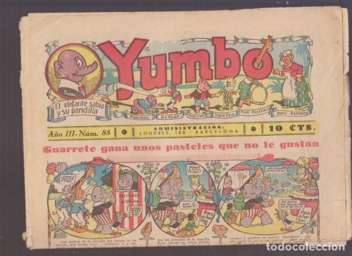 COMIC COLECCION YUMBO Nº 85 (Tebeos y Comics - Hispano Americana - Yumbo)