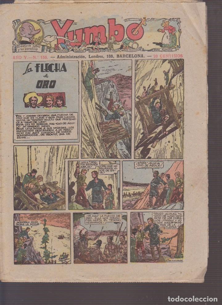 COMIC COLECCION YUMBO Nº 155 (Tebeos y Comics - Hispano Americana - Yumbo)