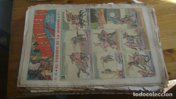 Tebeos: REVISTA AVENTURERO 1935 HISPANOS AMERICANA ORIGINAL IMPORTANTE LOTE VER FOTOS Y DESCRIPCION - Foto 5 - 228185515