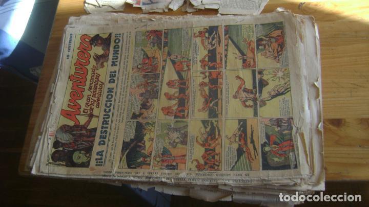 Tebeos: REVISTA AVENTURERO 1935 HISPANOS AMERICANA ORIGINAL IMPORTANTE LOTE VER FOTOS Y DESCRIPCION - Foto 8 - 228185515