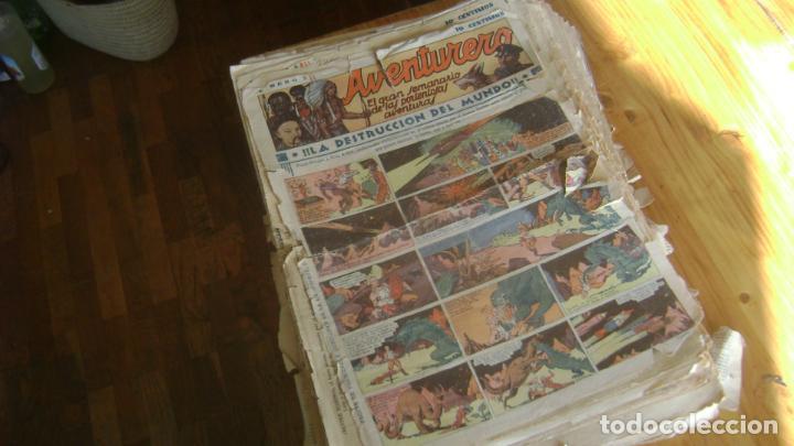 REVISTA AVENTURERO 1935 HISPANOS AMERICANA ORIGINAL IMPORTANTE LOTE VER FOTOS Y DESCRIPCION (Tebeos y Comics - Hispano Americana - Aventurero)