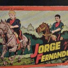Tebeos: AVENTURAS DE JORGE Y FERNANDO - ALBUM, Nº 3 - ED. HISPANOAMERICANA. Lote 228553218