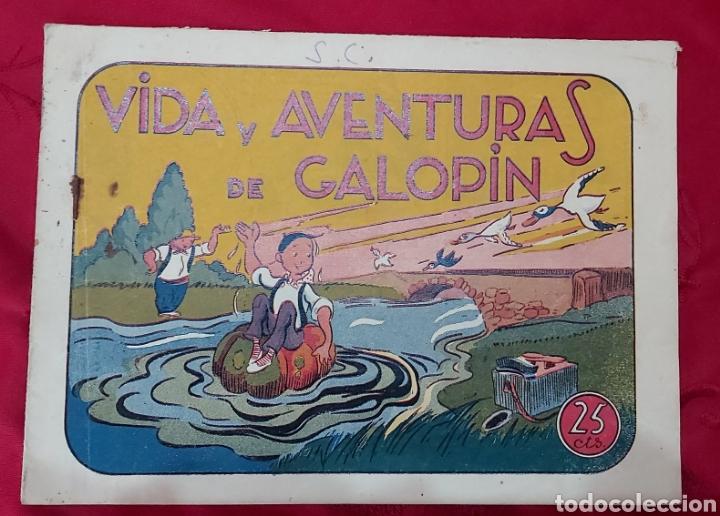 TEBEO VIDA Y AVENTURAS DE GALOPIN. IGA HISPANO AMERICANA 1943 (Tebeos y Comics - Hispano Americana - Otros)