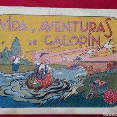 Tebeos: TEBEO VIDA Y AVENTURAS DE GALOPIN. IGA HISPANO AMERICANA 1943. Lote 228588715