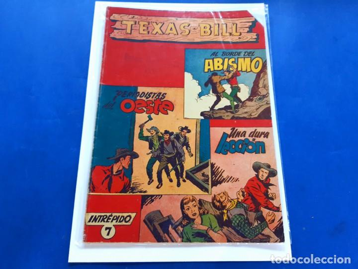 TEXAS BILL Nº 7 -ORIGINAL -HISPANO AMERICANA (Tebeos y Comics - Hispano Americana - Otros)