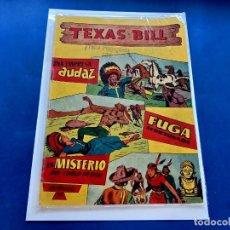 Tebeos: TEXAS BILL Nº 11 -ORIGINAL -HISPANO AMERICANA. Lote 229561660