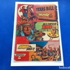 Tebeos: TEXAS BILL Nº 14 -ORIGINAL -HISPANO AMERICANA. Lote 229561960