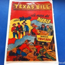 Tebeos: TEXAS BILL Nº 17 -ORIGINAL -HISPANO AMERICANA. Lote 229562380
