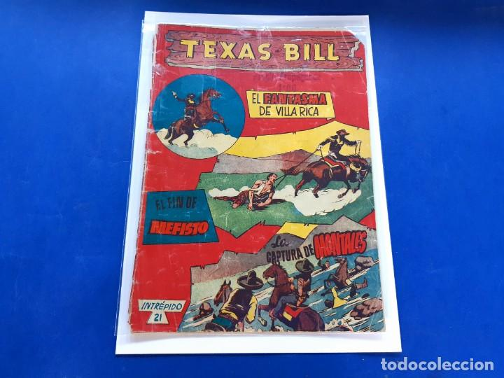 TEXAS BILL Nº 21 -ORIGINAL -HISPANO AMERICANA (Tebeos y Comics - Hispano Americana - Otros)