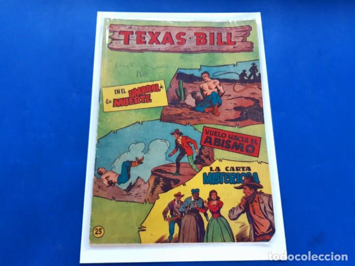 TEXAS BILL Nº 25 -ORIGINAL -HISPANO AMERICANA (Tebeos y Comics - Hispano Americana - Otros)