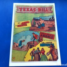 Tebeos: TEXAS BILL Nº 25 -ORIGINAL -HISPANO AMERICANA. Lote 229563085