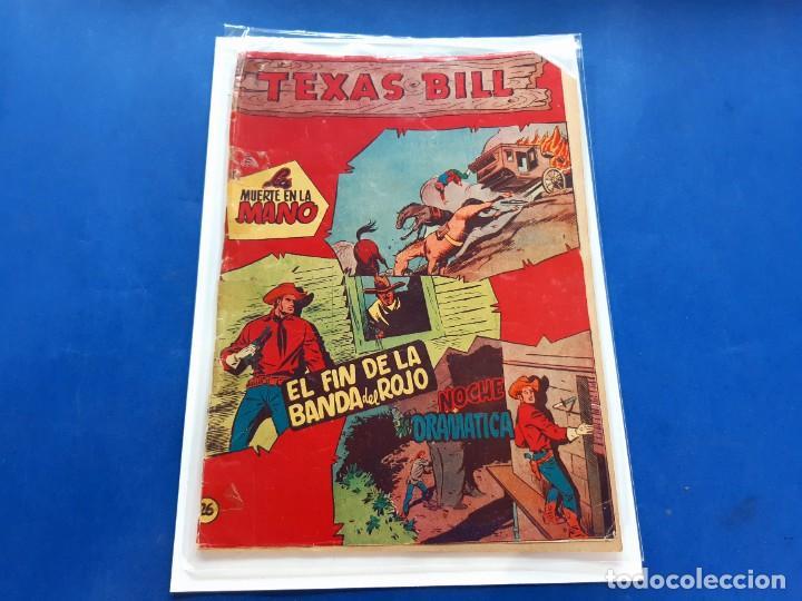 TEXAS BILL Nº 26 -ORIGINAL -HISPANO AMERICANA (Tebeos y Comics - Hispano Americana - Otros)