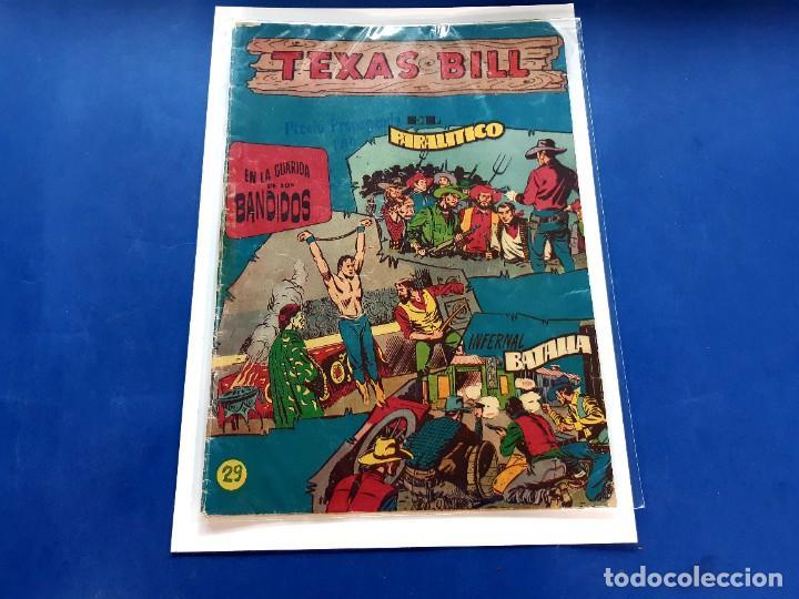 TEXAS BILL Nº 29 -ORIGINAL -HISPANO AMERICANA (Tebeos y Comics - Hispano Americana - Otros)