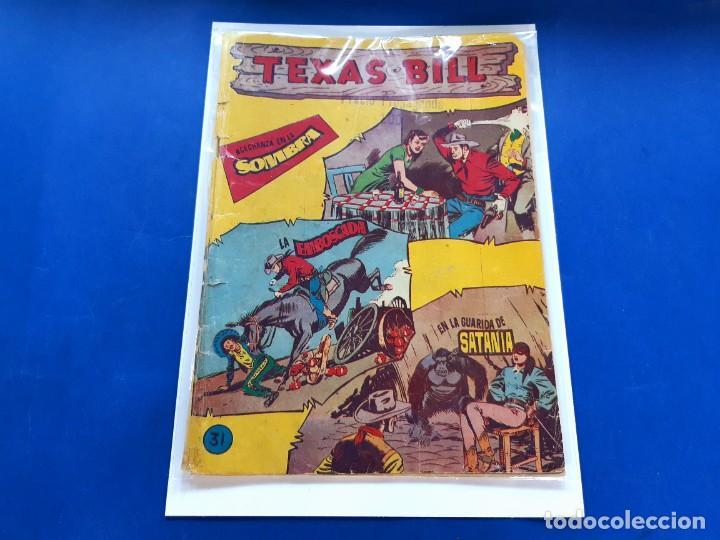 TEXAS BILL Nº 31 -ORIGINAL -HISPANO AMERICANA (Tebeos y Comics - Hispano Americana - Otros)