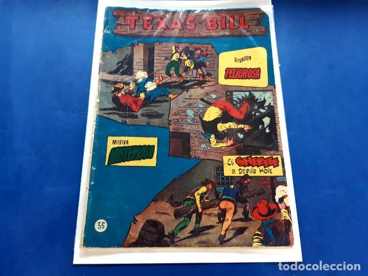 TEXAS BILL Nº 35 -ORIGINAL -HISPANO AMERICANA (Tebeos y Comics - Hispano Americana - Otros)