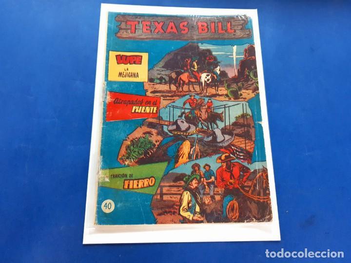 TEXAS BILL Nº 40 -ORIGINAL -HISPANO AMERICANA (Tebeos y Comics - Hispano Americana - Otros)