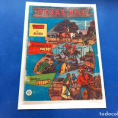 Tebeos: TEXAS BILL Nº 40 -ORIGINAL -HISPANO AMERICANA. Lote 229564595