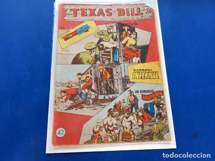 TEXAS BILL Nº 42 -ORIGINAL -HISPANO AMERICANA (Tebeos y Comics - Hispano Americana - Otros)