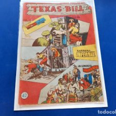 Tebeos: TEXAS BILL Nº 42 -ORIGINAL -HISPANO AMERICANA. Lote 229564960