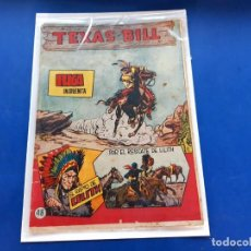 Tebeos: TEXAS BILL Nº 48 -ORIGINAL -HISPANO AMERICANA. Lote 229565530