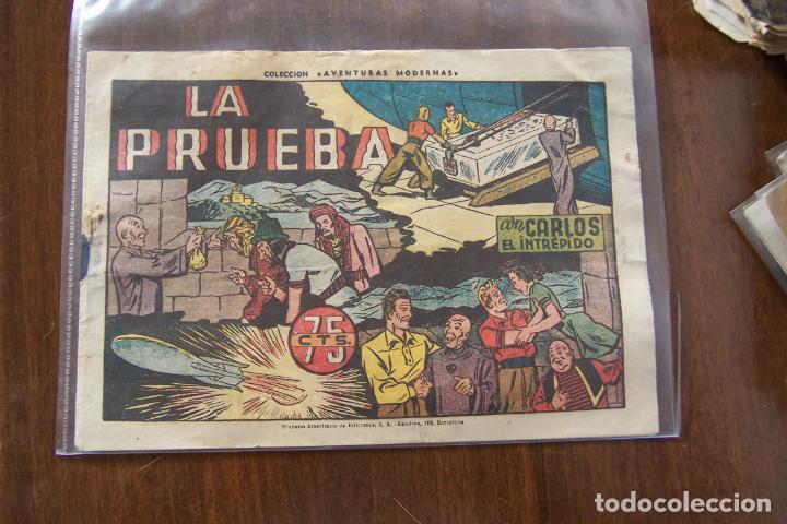 Tebeos: hispano americana carlos el intrépido nº 1 - 2 y 7 Y 8 ÚLTIMO, del último formato - Foto 7 - 48623488