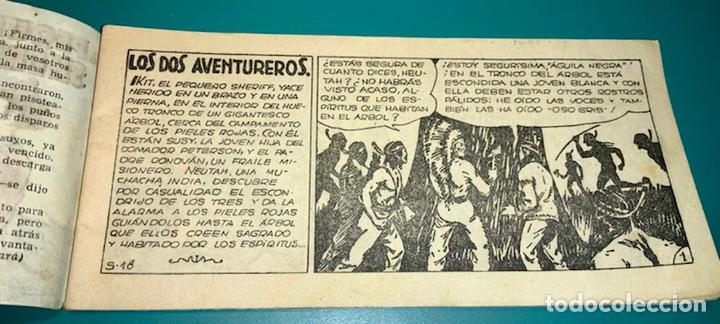 Tebeos: COMIC EL PEQUEÑO SHERIFF N 18 HISPANO AMERICANA DE EDICIONES - Foto 3 - 230040550