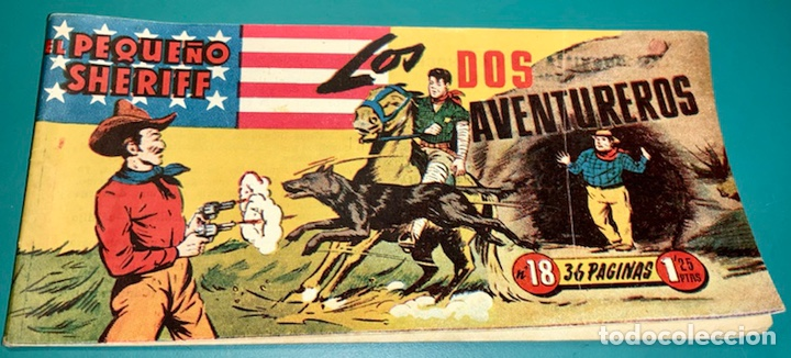 COMIC EL PEQUEÑO SHERIFF N 18 HISPANO AMERICANA DE EDICIONES (Tebeos y Comics - Hispano Americana - Otros)