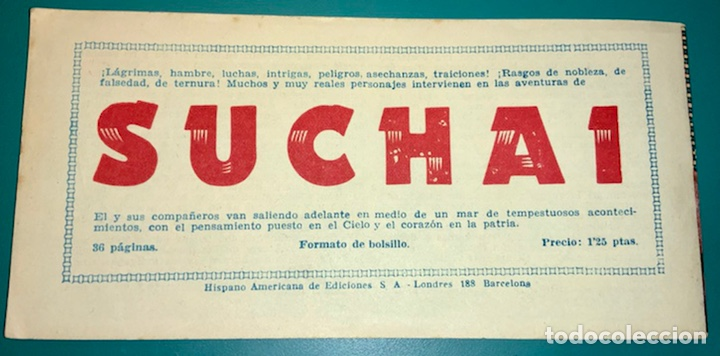 Tebeos: COMIC DE JORGE Y FERNANDO NÚMERO 27 HISPANO AMERICANA DE EDICIONES - Foto 2 - 230042050