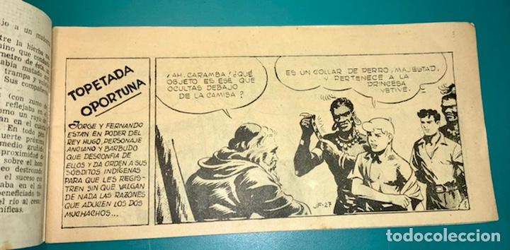 Tebeos: COMIC DE JORGE Y FERNANDO NÚMERO 27 HISPANO AMERICANA DE EDICIONES - Foto 3 - 230042050