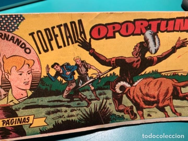 Tebeos: COMIC DE JORGE Y FERNANDO NÚMERO 27 HISPANO AMERICANA DE EDICIONES - Foto 4 - 230042050