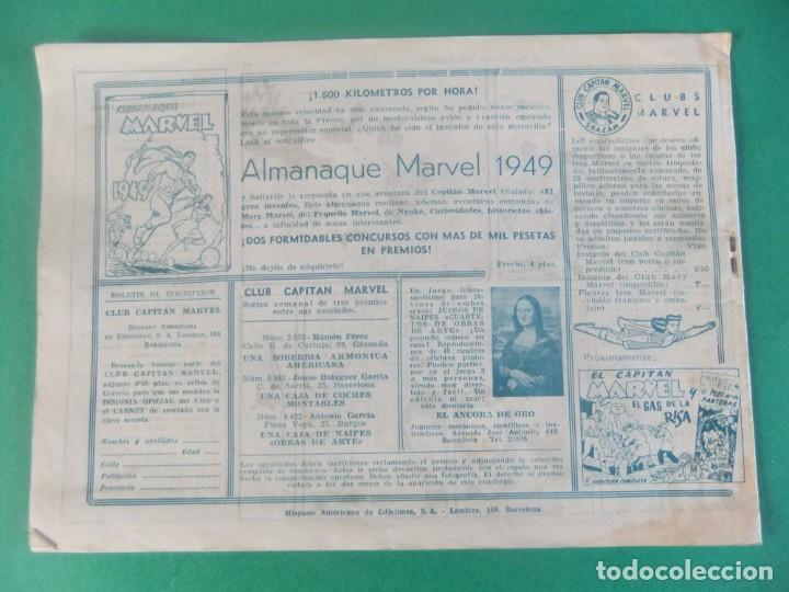 Tebeos: EL CAPITAN MARVEL Nº 63 SIVANA GOBERNADOR HISPANO AMERICANA - Foto 2 - 230231505
