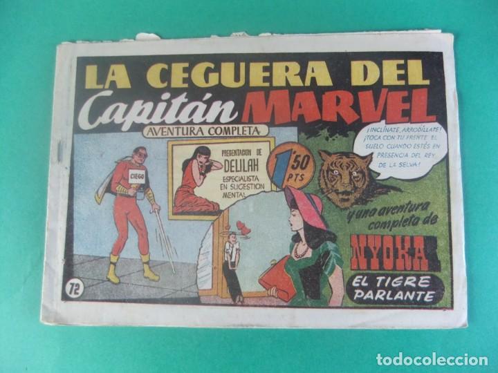 EL CAPITAN MARVEL Nº 72 LA CEGUERA DEL CAPITAN MARVEL HISPANO AMERICANA (Tebeos y Comics - Hispano Americana - Capitán Marvel)