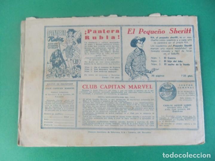 Tebeos: EL CAPITAN MARVEL Nº 72 LA CEGUERA DEL CAPITAN MARVEL HISPANO AMERICANA - Foto 2 - 230232530