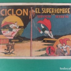 Tebeos: CICLON EL SUPER HOMBRE EN SERVICIO SACRETO HISPANO AMERICANA. Lote 230233385