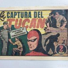 """Tebeos: HOMBRE ENMASCARADO 48: LA CAPTURA DEL TUCÁN, 1941 - TARANCON """"EL NOVENTA Y CINCO"""". Lote 233025840"""