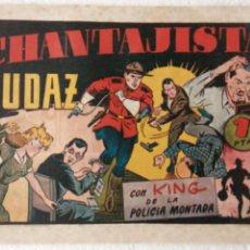 Tebeos: KING DE LA POLICÍA MONTADA ORIGINAL , HISPANO AMERICANA 1946 -. Lote 233932735