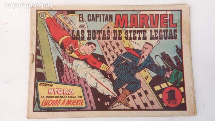 EL CAPITÁN MARVEL ORIGINAL Nº 15 - EDI. HISPANO AMERICANA , 1947 (Tebeos y Comics - Hispano Americana - Capitán Marvel)
