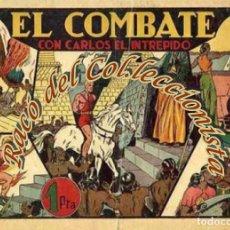 Tebeos: CARLOS EL INTREPIDO N. 10 (EL COMBATE) , ALBUMES PREFERIDOS POR LA JUVENTUD, HISPANO AMERICANA,1942. Lote 234316755